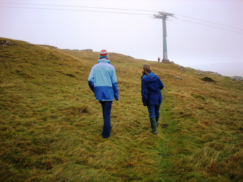 Hiking up the Great Orme