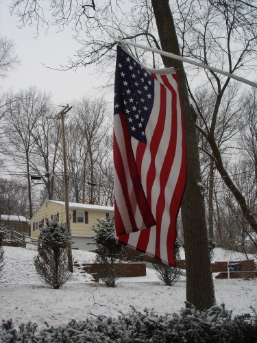 Flag from dad's house
