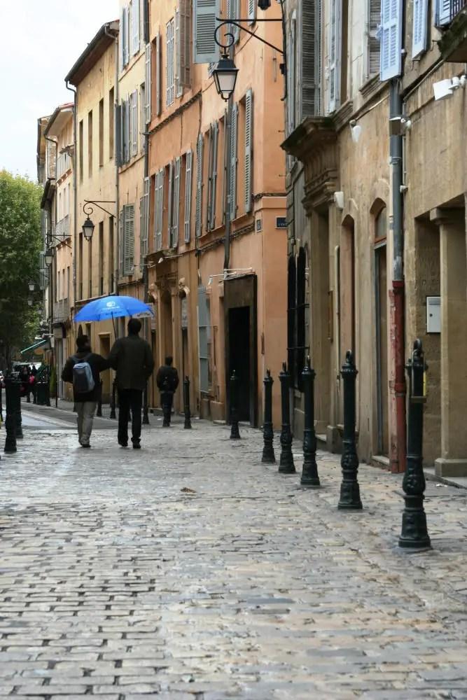 Rainy Days in Aix