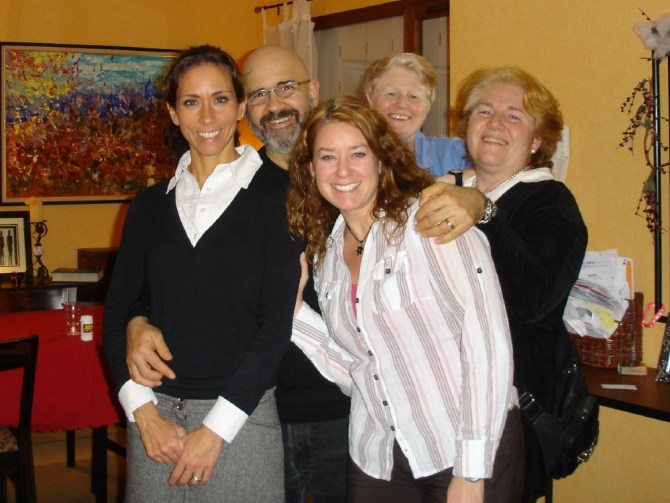 Leyla, Anne, and family!