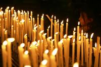 Candle light in the Duomo