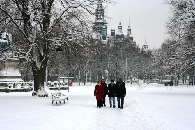 Strolling through Djurgarten