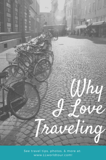 Why I love travelling