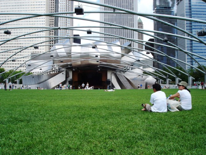 Millennium Park Chicago by LL