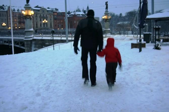 stroll in stockholm