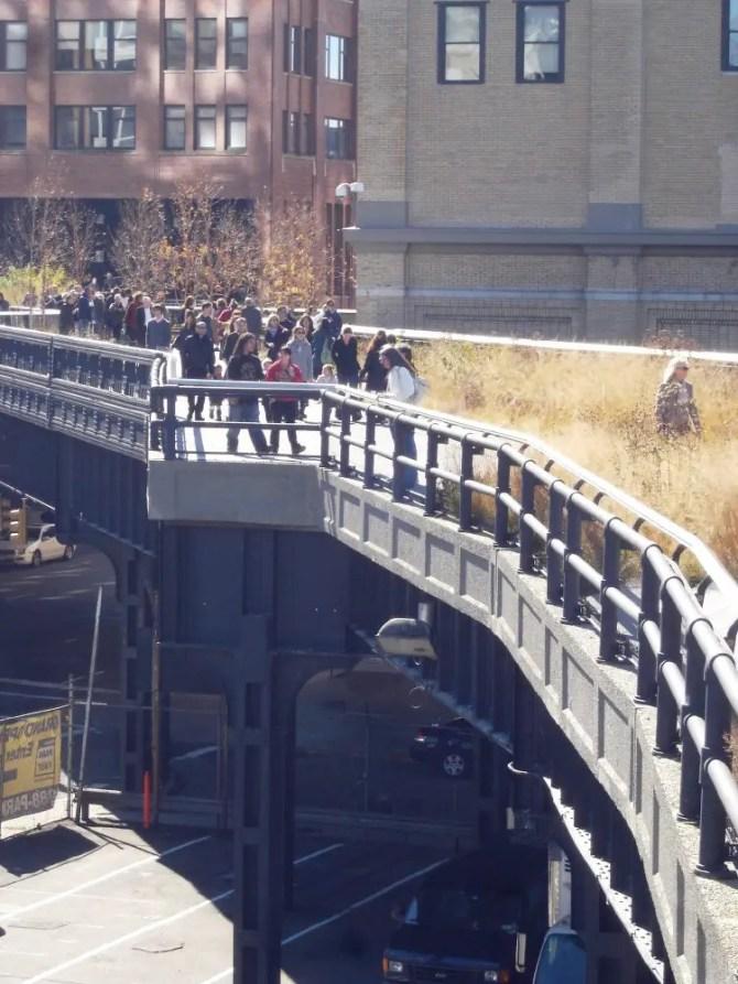 Highline Park in New York City
