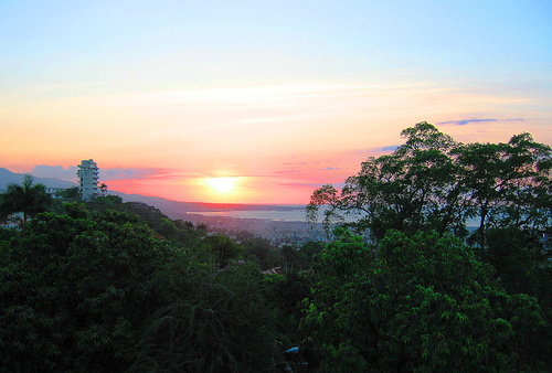 Sunset from Port-au-prince. Courtesy M. Eriksson/Flickr