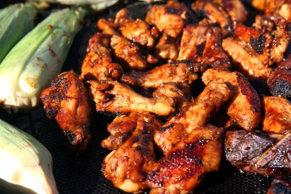 Grilling Wings on the BBQ