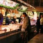 """Fish """"Church"""" Market in Gothenburg, Sweden"""