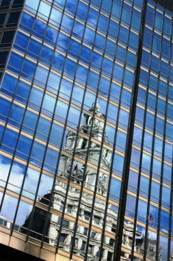 Reflections of Wrigley Building