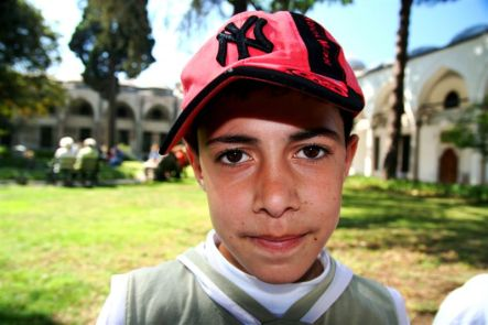 Turkish boy @ Top Kapi