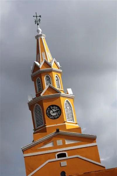 Church in Cartagena