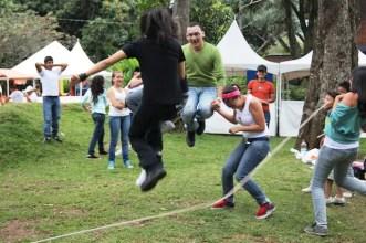 Jump Rope at Botanic Gardens