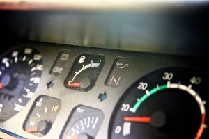 Car Fuel gauge photo
