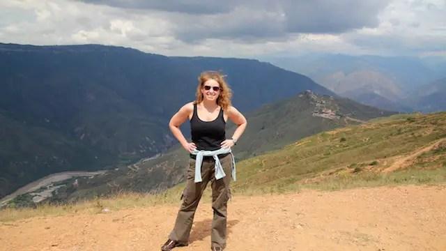 Lisa Lubin in Colombia