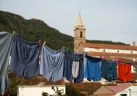 Underwear in Aracena, Spain
