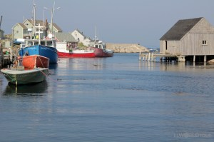 Peggys Cove - the town