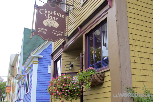 Charlotte Lane Cafe, Shelburne, Nova Scotia
