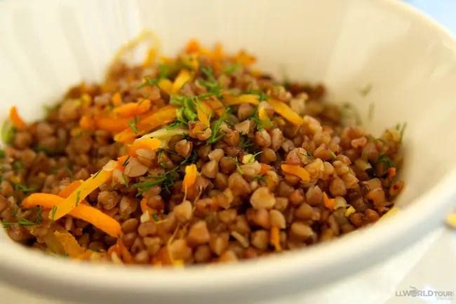 St Petersburg Food - Buckwheat