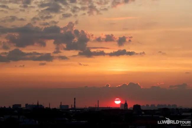 Sunset St Petersburg