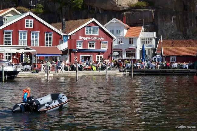 Fjällbacka Harbor