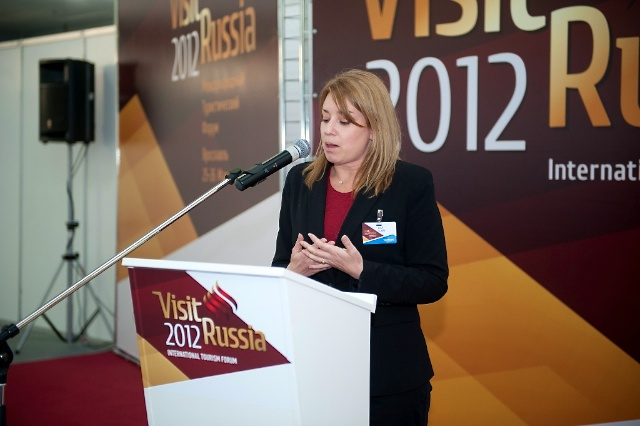 Lisa Lubin Speaks at Visit Russia