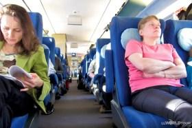 high speed russian train