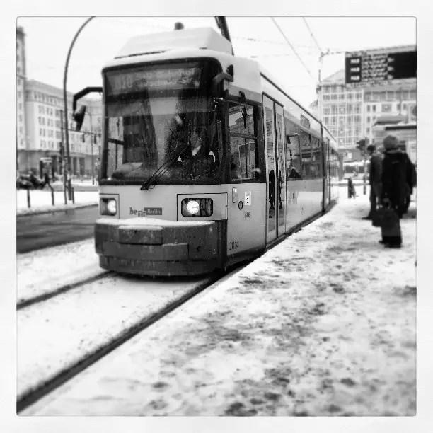 M10 Tram in East Berlin