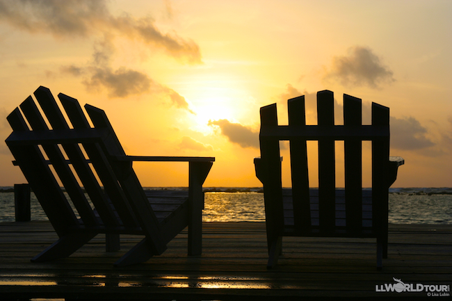 Empty Chairs at Sunrise