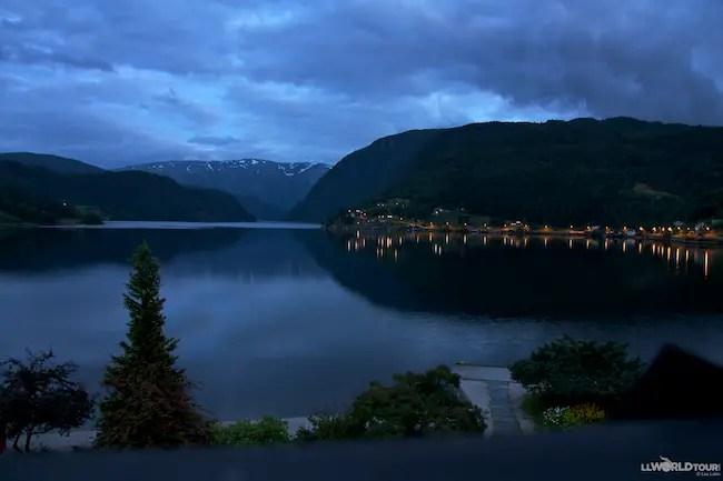 Ulvik by Night