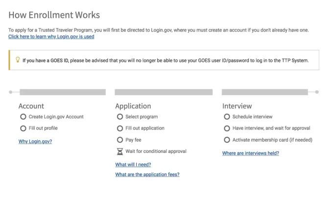 Apply for Global Entry