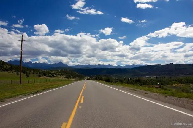 Drive to Silverton