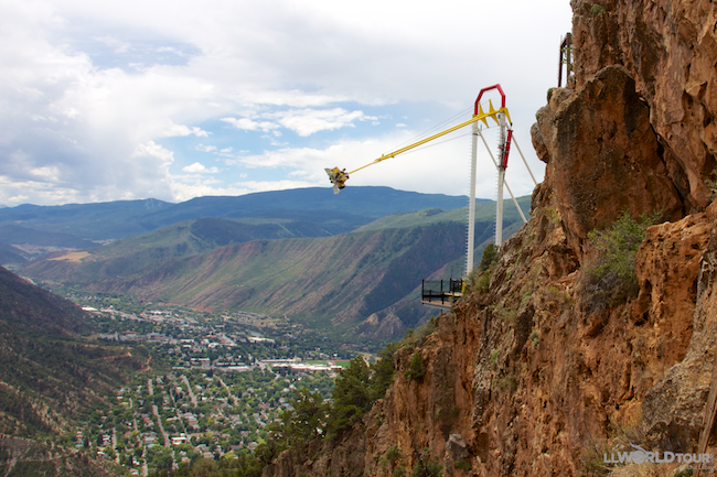 Glenwood Springs Giant Canyon Swing
