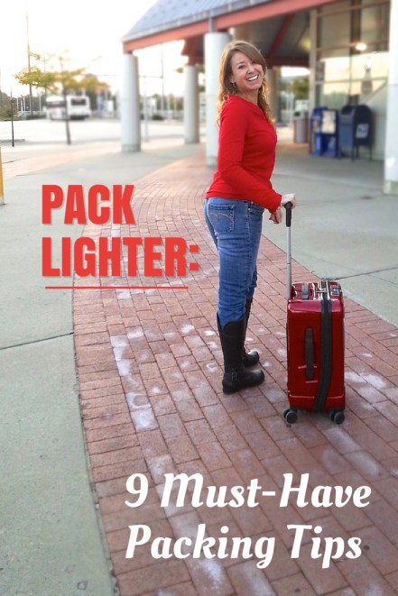 How to pack lighter