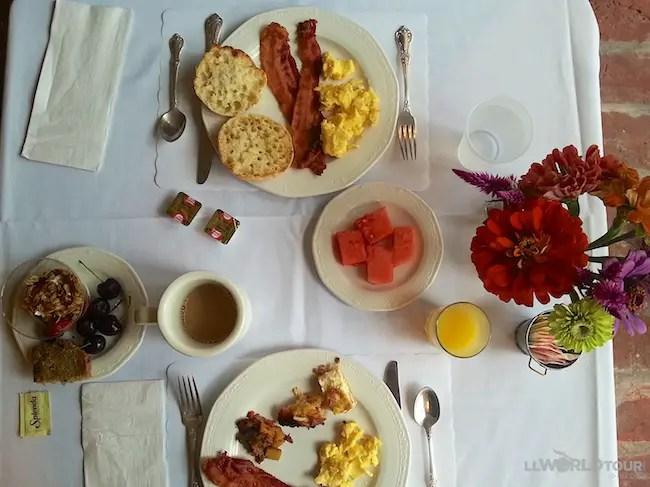1740 House Breakfast