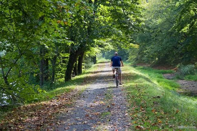 Biking the Tow Path