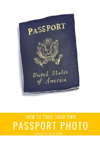 travel tips  how to take your own free passport photo