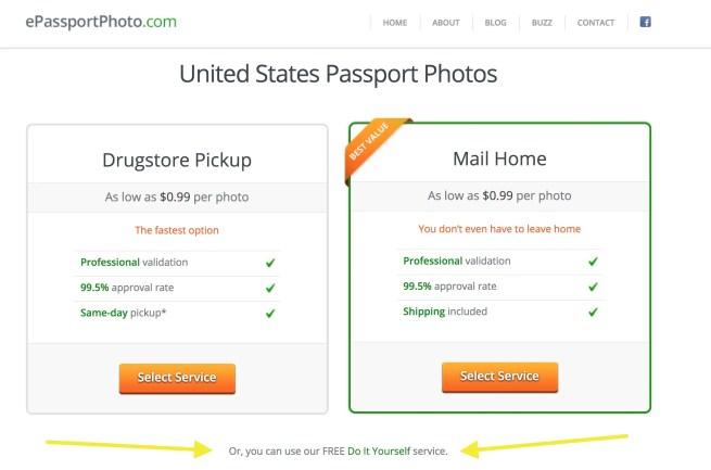 Free Passport Photo