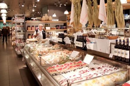 Globus Department store meat