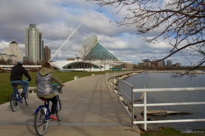 Biking in Milwaukee