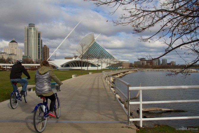 Biking in Milwaukee