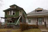 Detroit Rundown Neighborhood