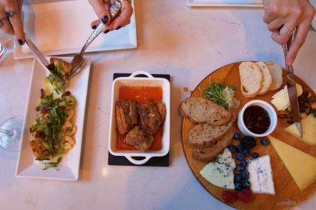 Appetizer spread at Atwood Restaurant