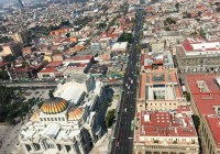 Mexico City from above