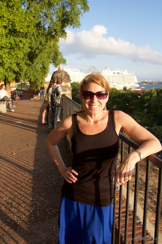 Lisa Lubin in Puerto Rico
