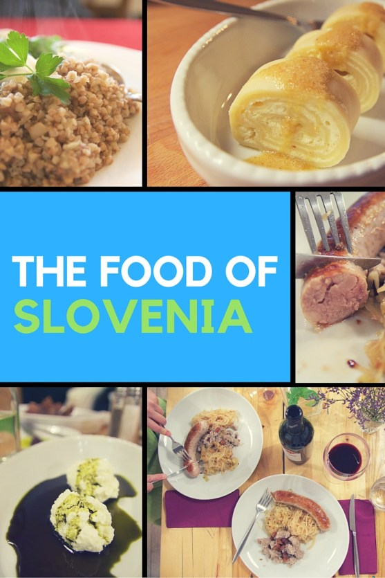 food of Slovenia