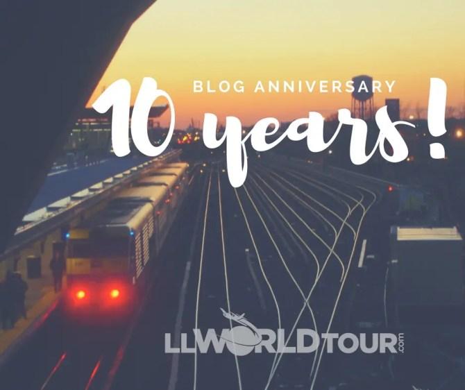 Blogging Anniversary