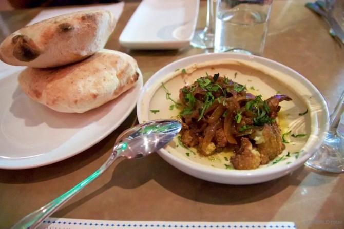 Hummus at Shaya