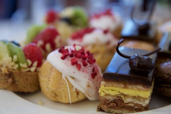 Treats at Afternoon Tea at the Pump Room
