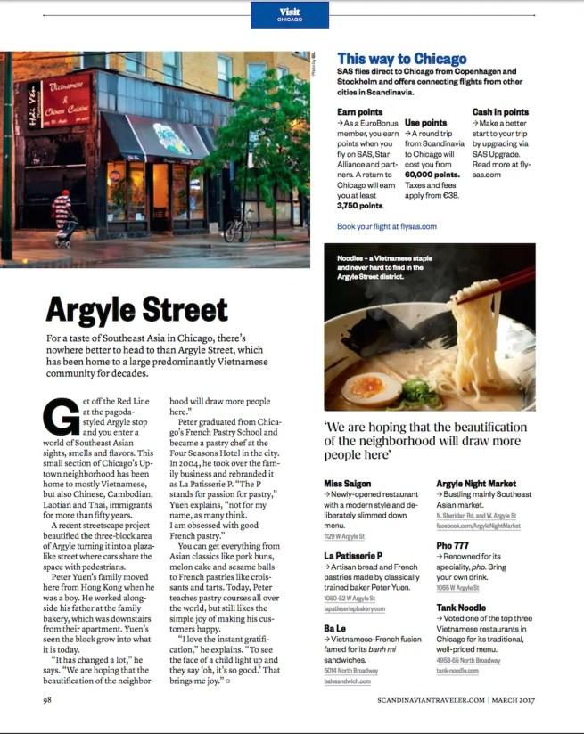 SAS - Argyle Street